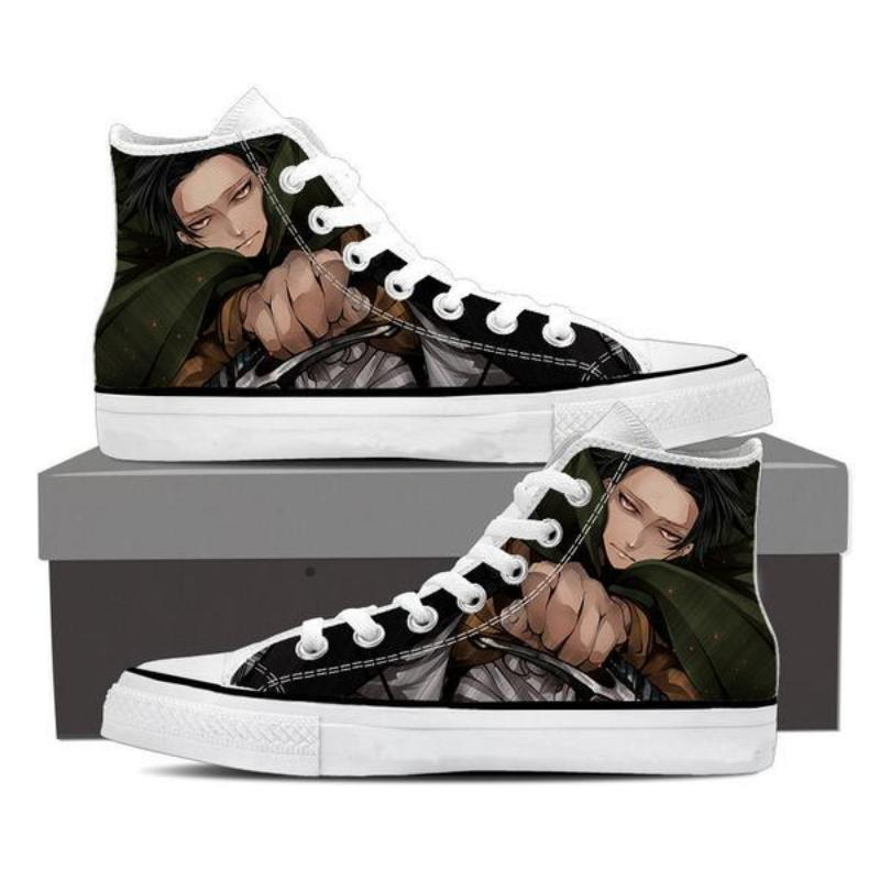 Attack On Titan Levi Face Attack On Titan Shoes