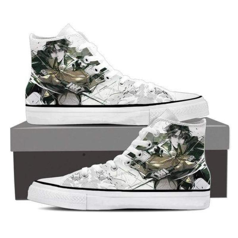 Attack On Titan Levi Gray Attack On Titan Shoes