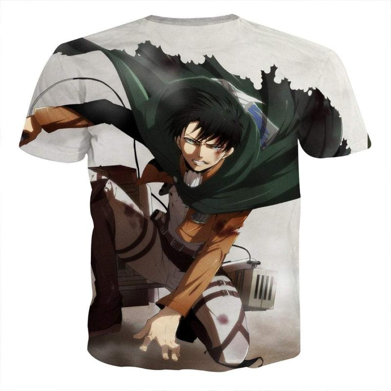 Attack On Titan Levi Squad Captain Attack On Titan T Shirt