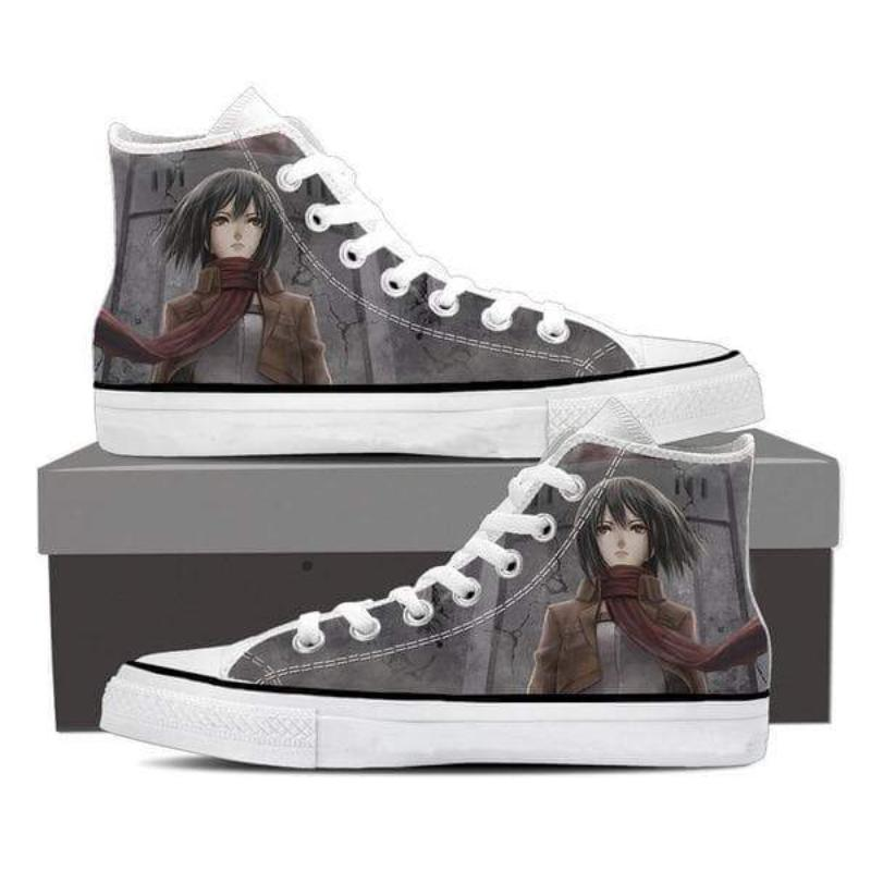 Attack On Titan Mikasa Gray Attack On Titan Shoes