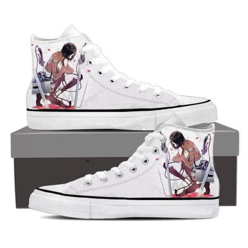 Attack On Titan Mikasa Kneeling Attack On Titan Shoes