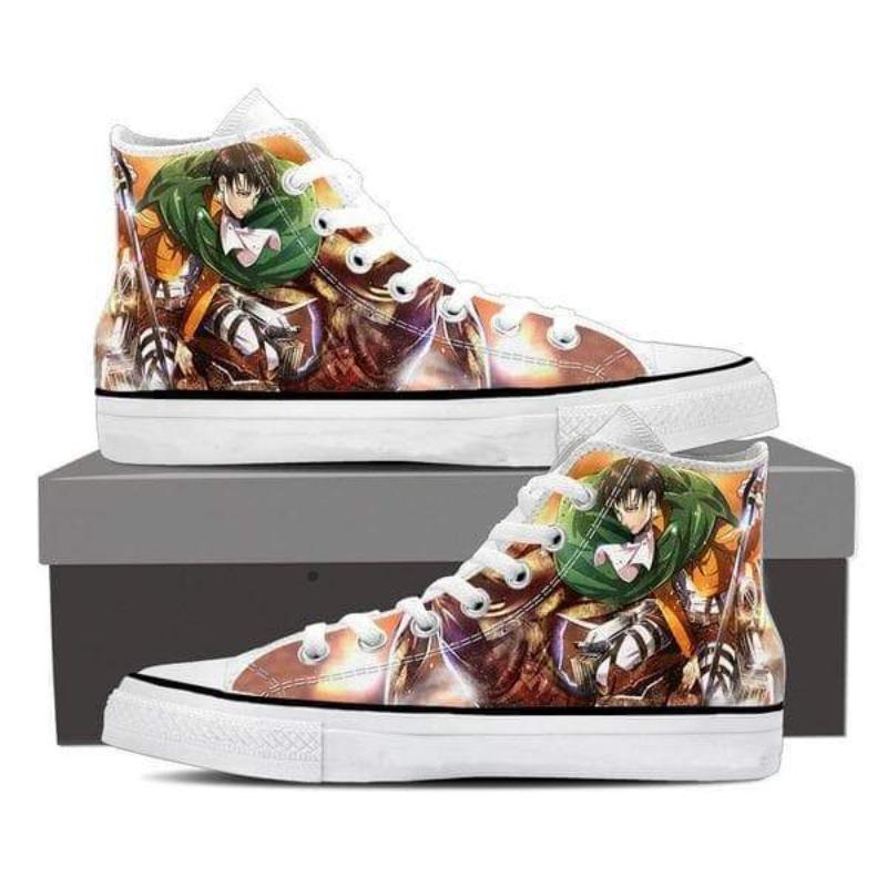 Attack On Titan Multi Colored Levi Attack On Titan Shoes