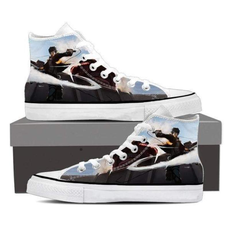 Attack On Titan Raged Eren Attack On Titan Shoes