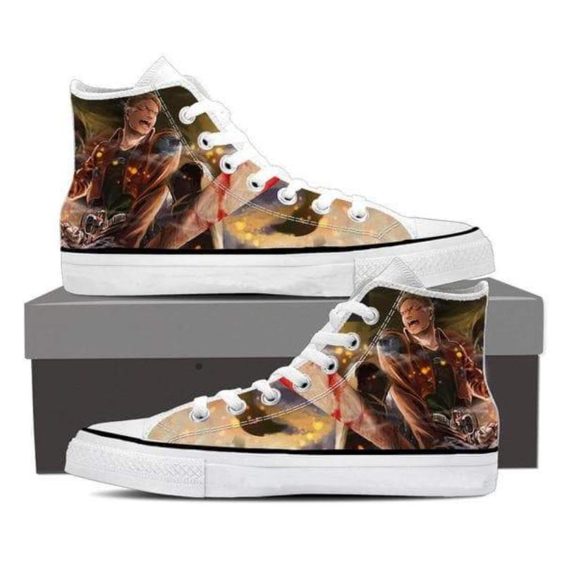 Attack On Titan Reiner Attack On Titan Shoes