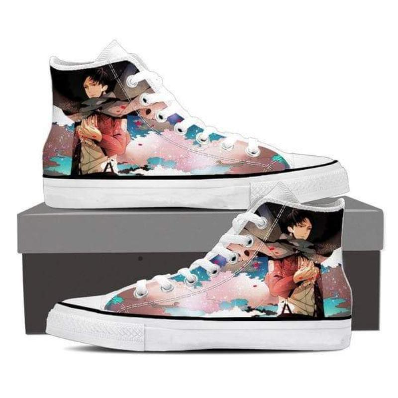 Attack On Titan Smiling Levi Attack On Titan Shoes
