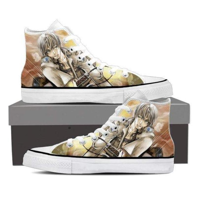 Attack On Titan White Eren Attack On Titan Shoes
