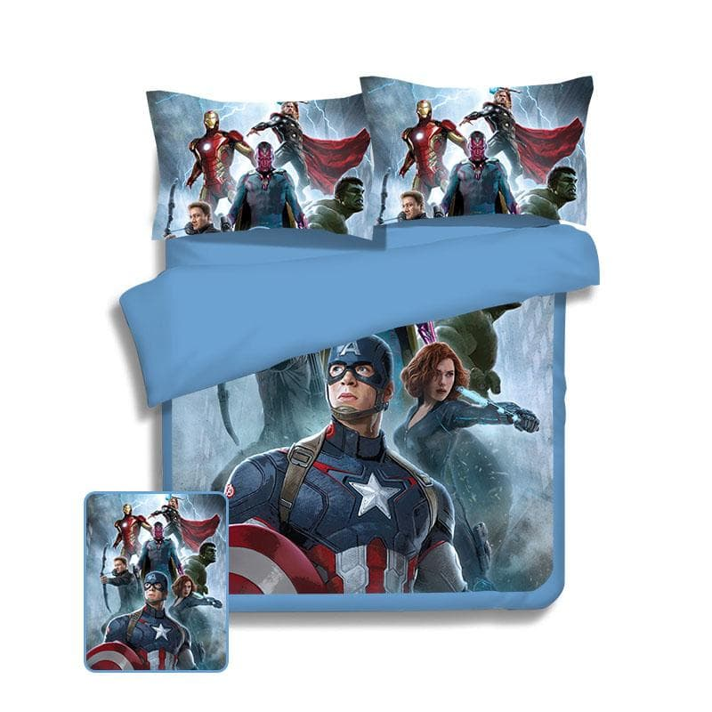 Avengers Bed Cover