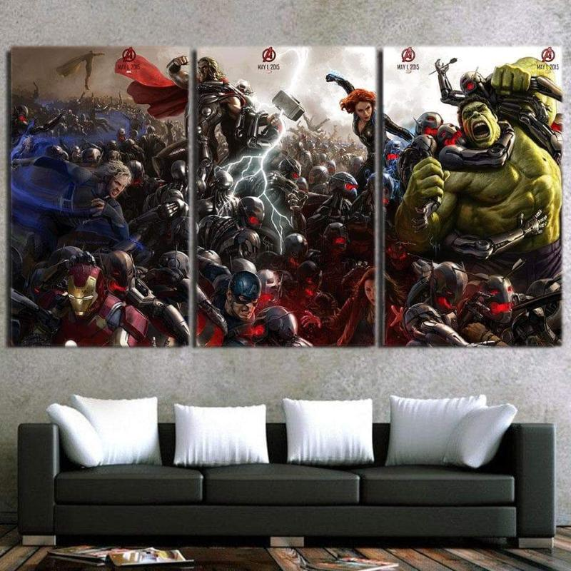 Avengers Cool Age Of Ultron Avengers Canvas