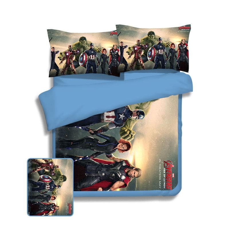 Avengers Cool Avengers Bed Cover
