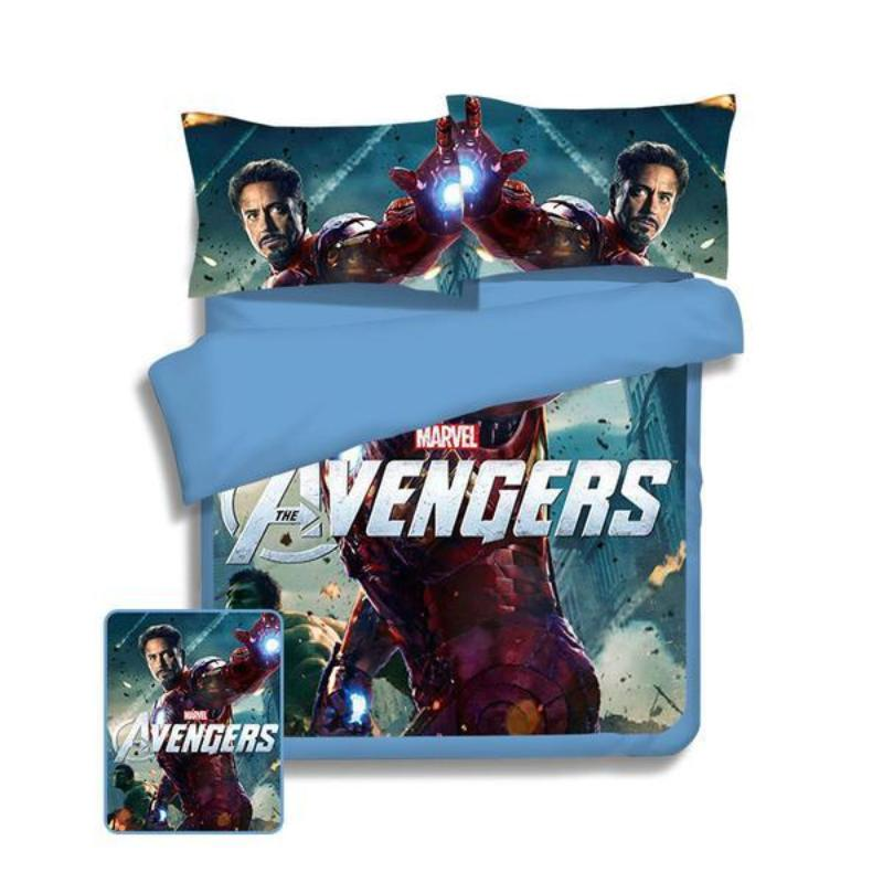 Avengers Iron Man Bed Set