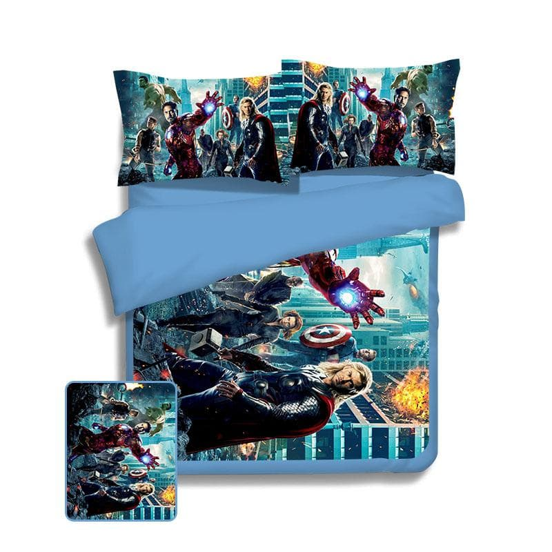 Avengers Part 1 Avengers Bed Cover