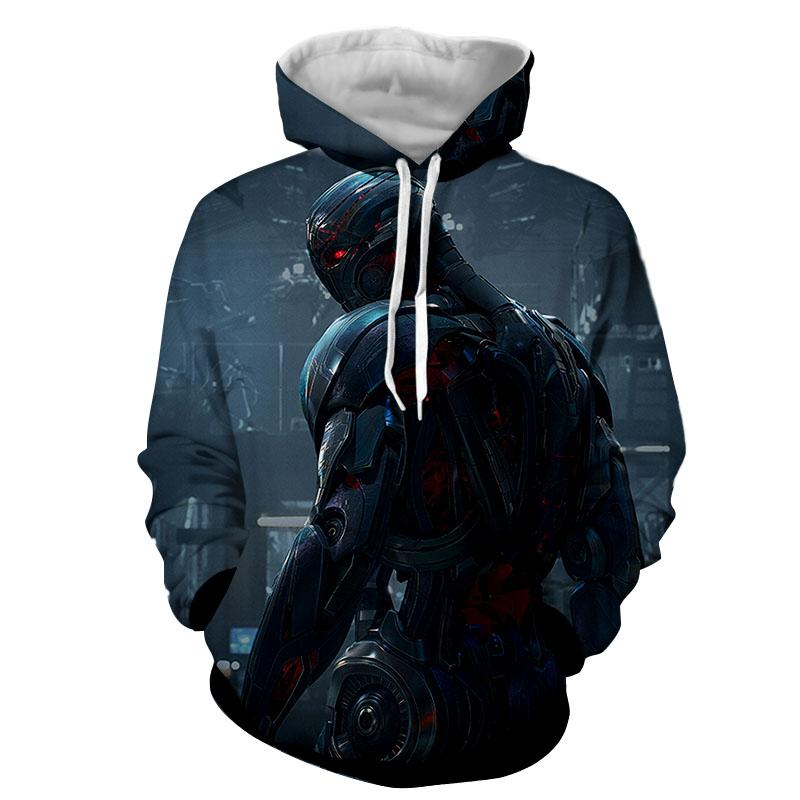 Avengers Ultron 3D Printed Avengers Hoodie