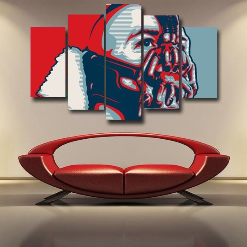 Bane Wall Canvas Print Art