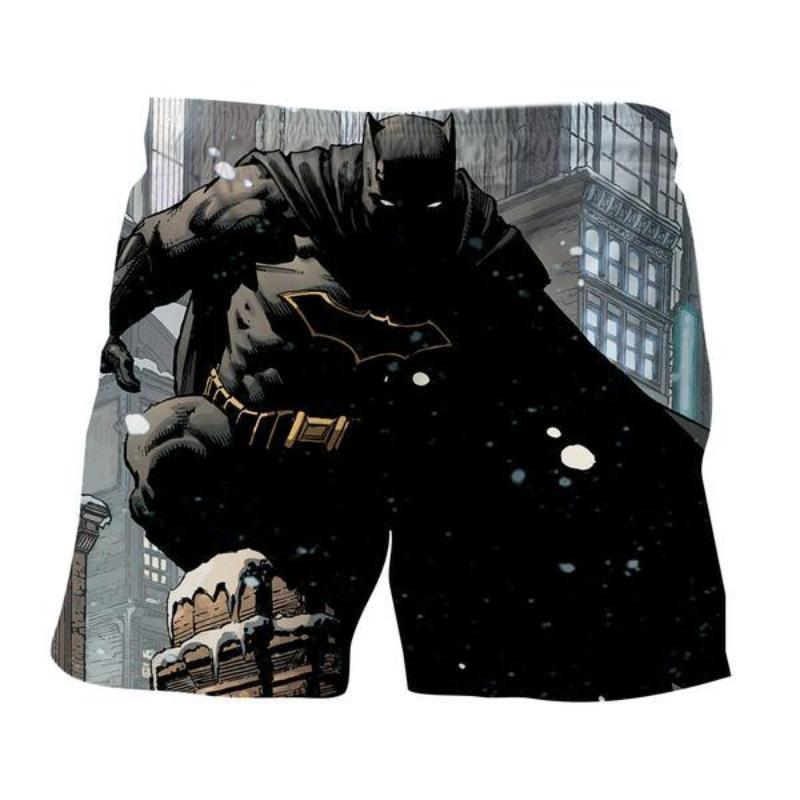 Batman 3D Printed Batman Black Power Batman Shorts