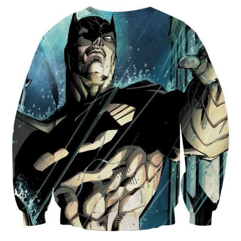 Batman Amazed 3D Printed Batman Sweatshirt