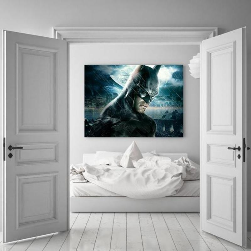 Batman Canvas Amazing Look 3D Printed Framed Canvas