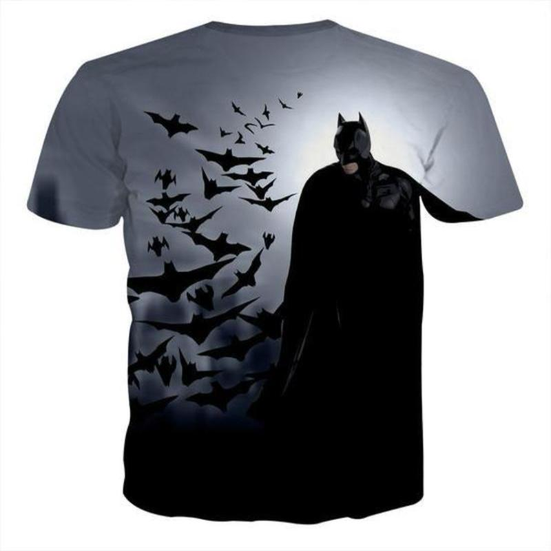 Batman Bats Are Angels 3D Printed Batman T-shirt