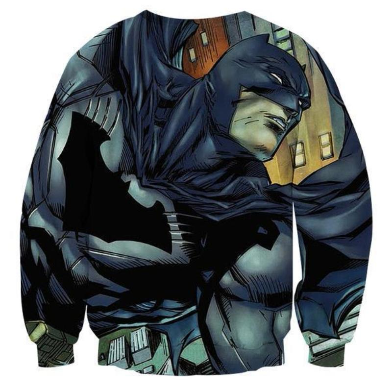 Batman Battle Now 3D Printed Batman Sweatshirt