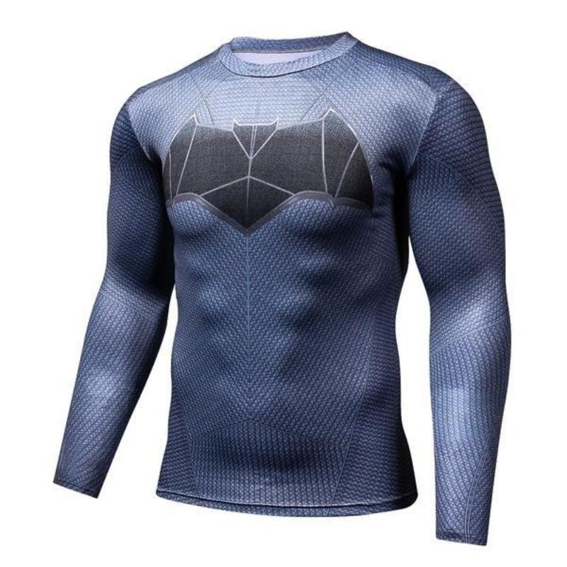 Batman Be Strong 3D Printed Batman Long Sleeve Shirt