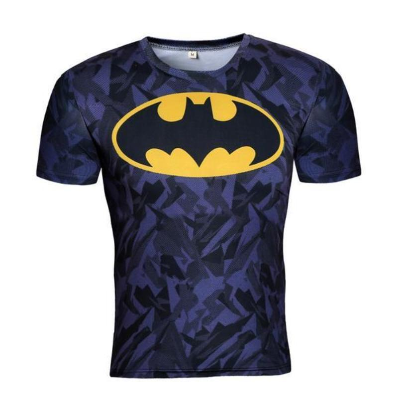 Batman Classic Yellow/Black 3D Printed Batman T-shirt