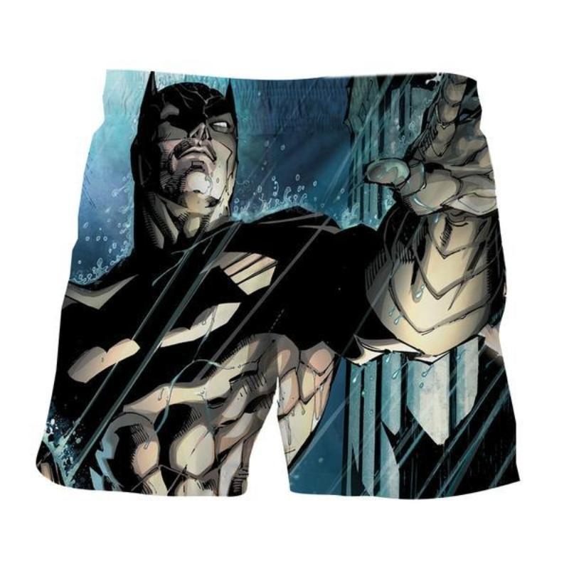 Batman Cool 3D Printed Batman Shorts