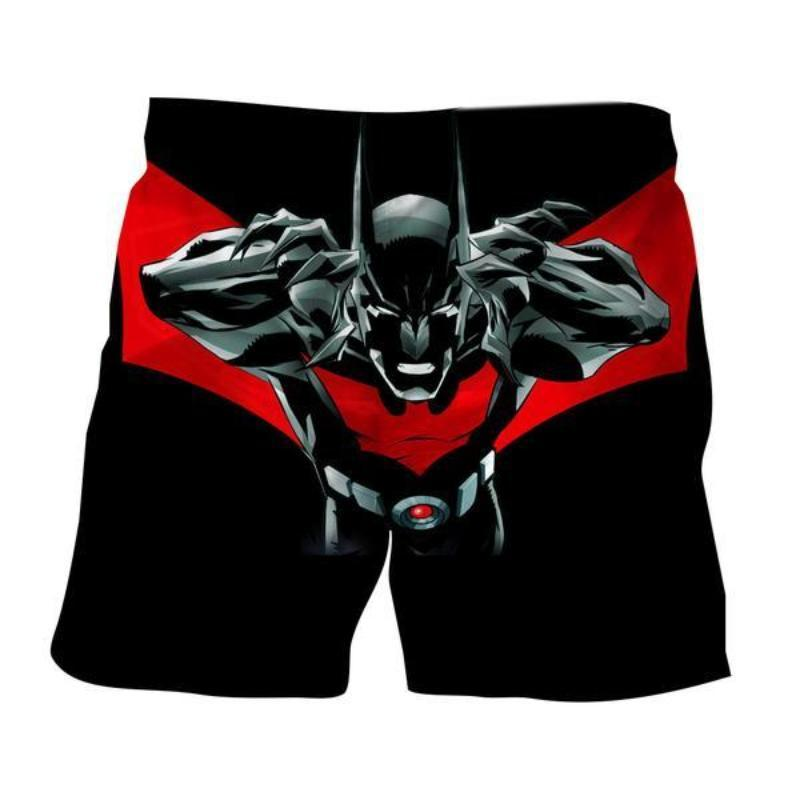 Batman Devil 3D Printed Batman Shorts