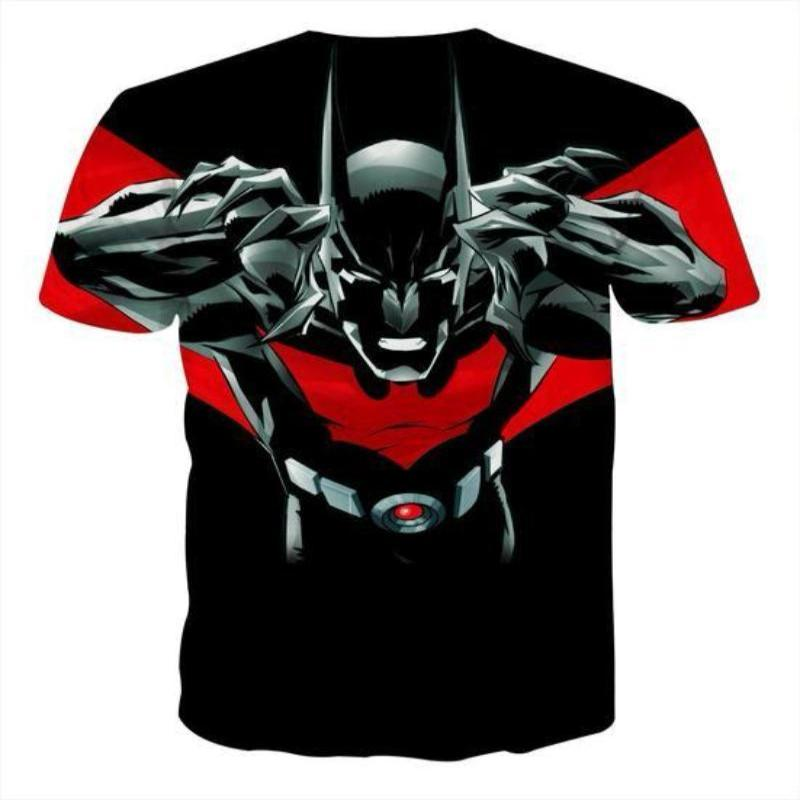 Batman Devil 3D Printed Batman T-shirt