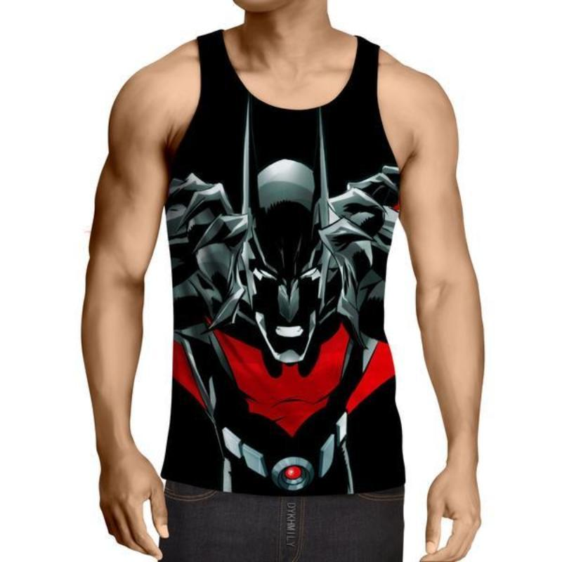 Batman Devil 3D Printed Batman Tank Top