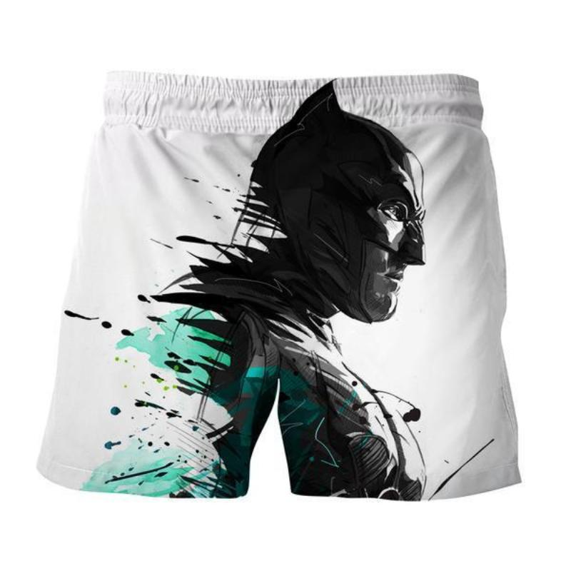 Batman Faded 3D Printed Batman Shorts