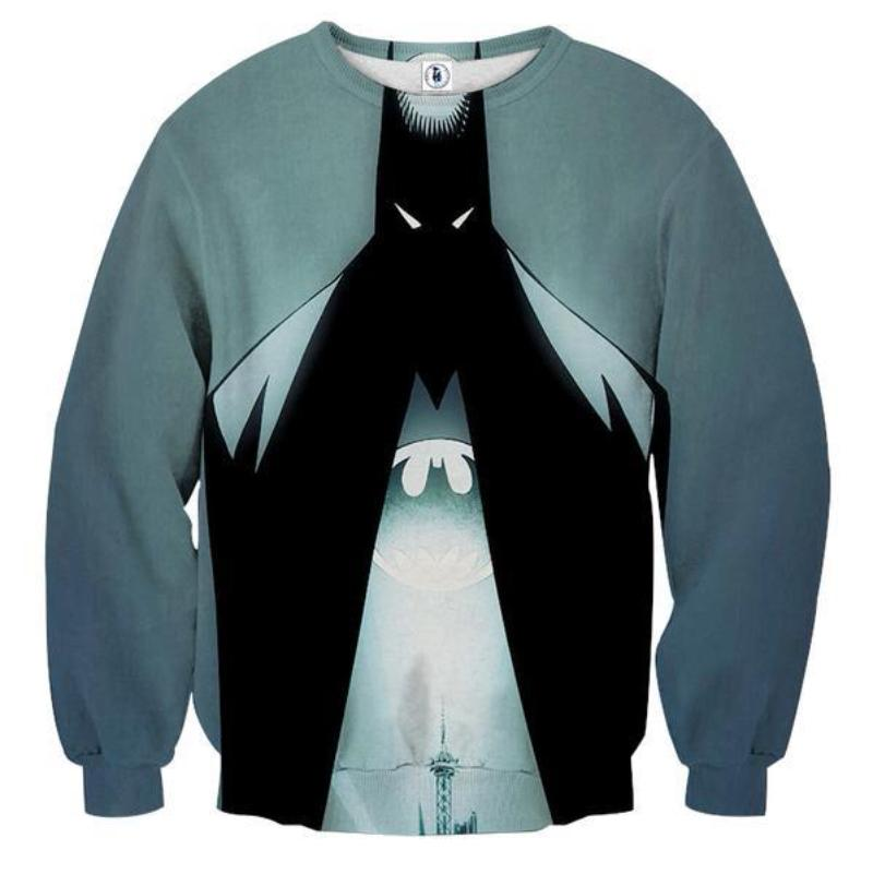 Batman Gentleman 3D Printed Batman Sweatshirt