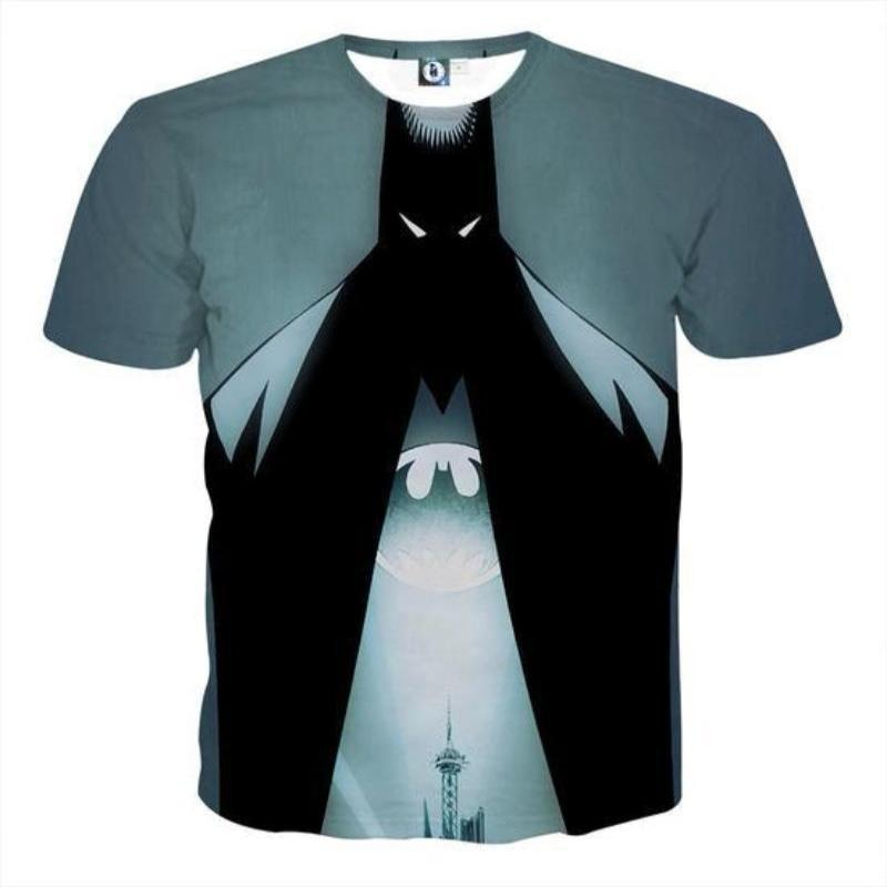 Batman Gentleman 3D Printed Batman T-shirt