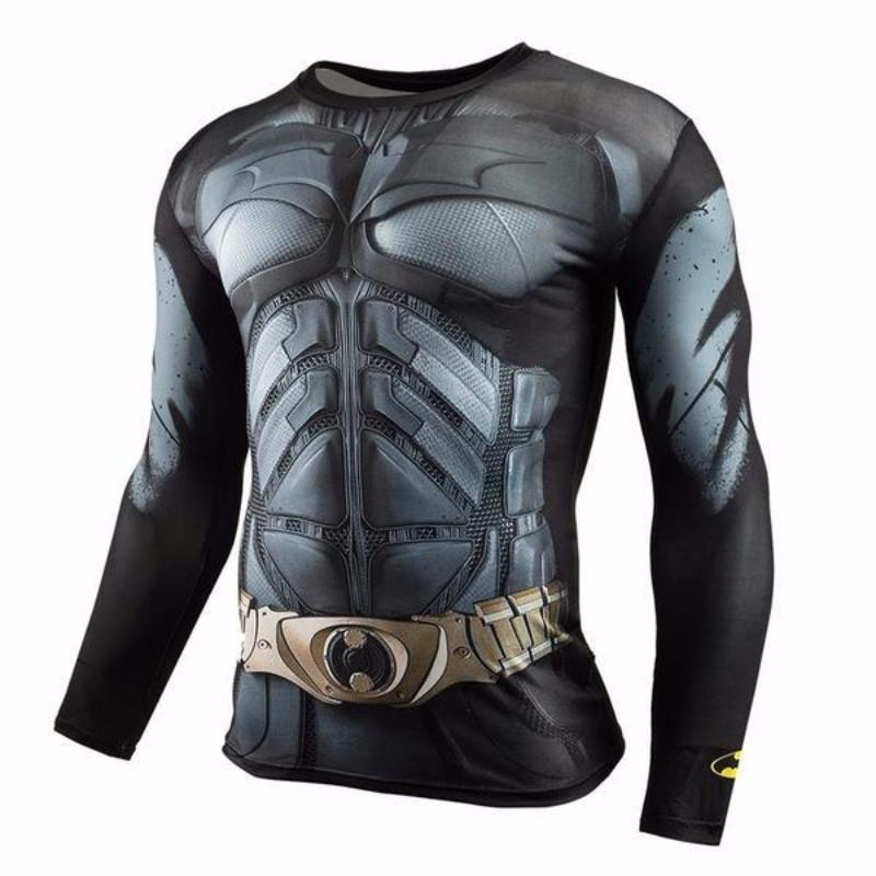 Batman Gotham City Hero 3D Printed Batman Long Sleeve Shirt