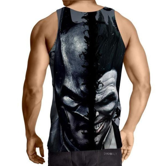 Batman Joker 3D Printed Batman Tank Top