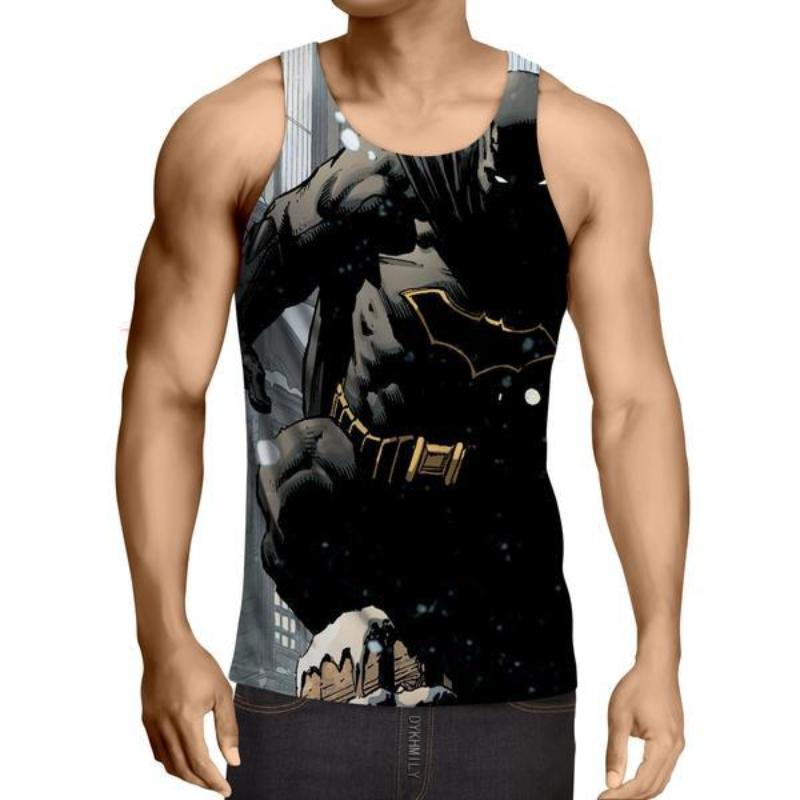 Batman Kill them All 3D Printed Batman Tank Top