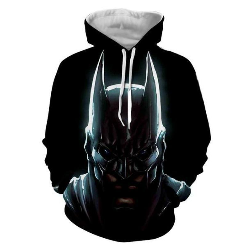 Batman Nudiustertian 3D Printed Batman Hoodie
