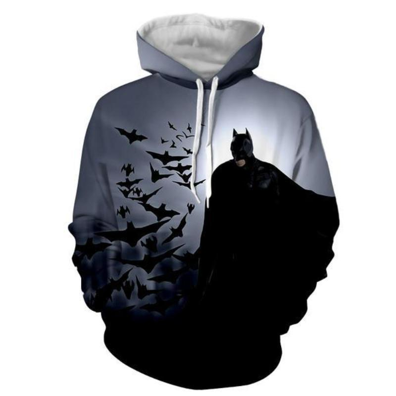 Batman Ramshackle 3D Printed Batman Hoodie