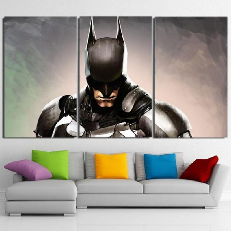 Batman Canvas Regret 3D Printed Framed Canvas