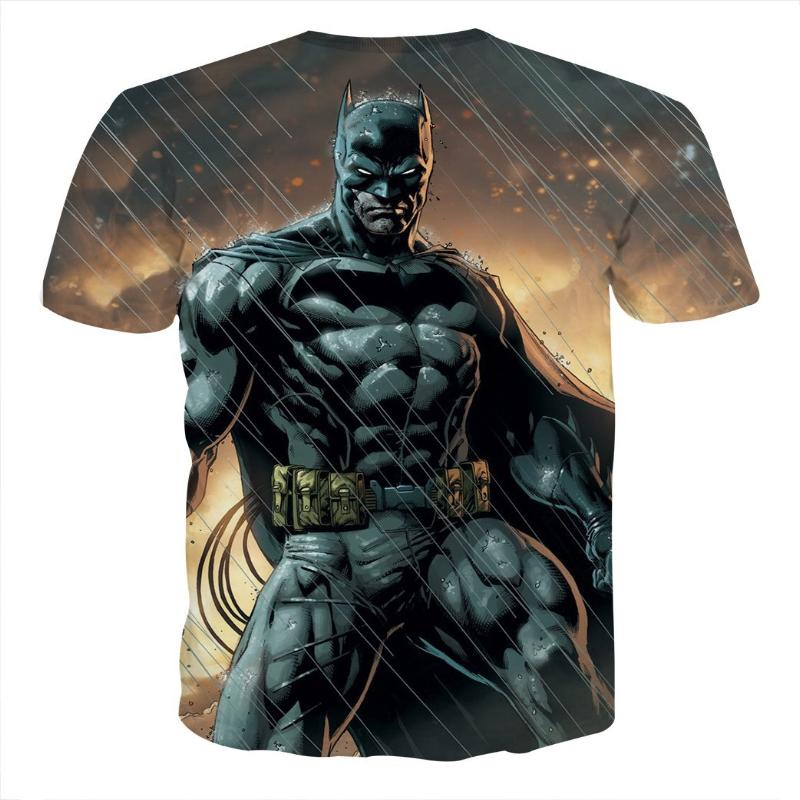 Batman Rise Above All 3D Printed Batman T-shirt