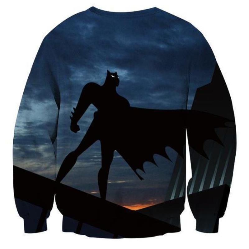 Batman Rise Again 3D Printed Batman Sweatshirt