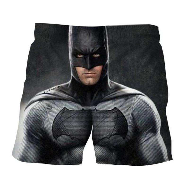 Batman Serious Look 3D Printed Batman Shorts