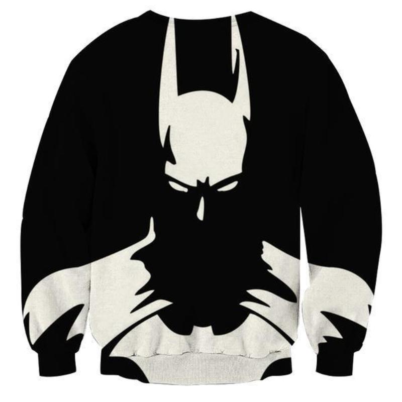 Batman Shadow 3D Printed Batman Sweatshirt