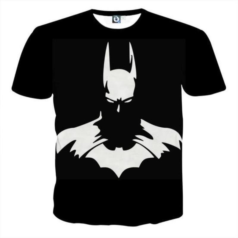 Batman Shadow 3D Printed Batman T-shirt