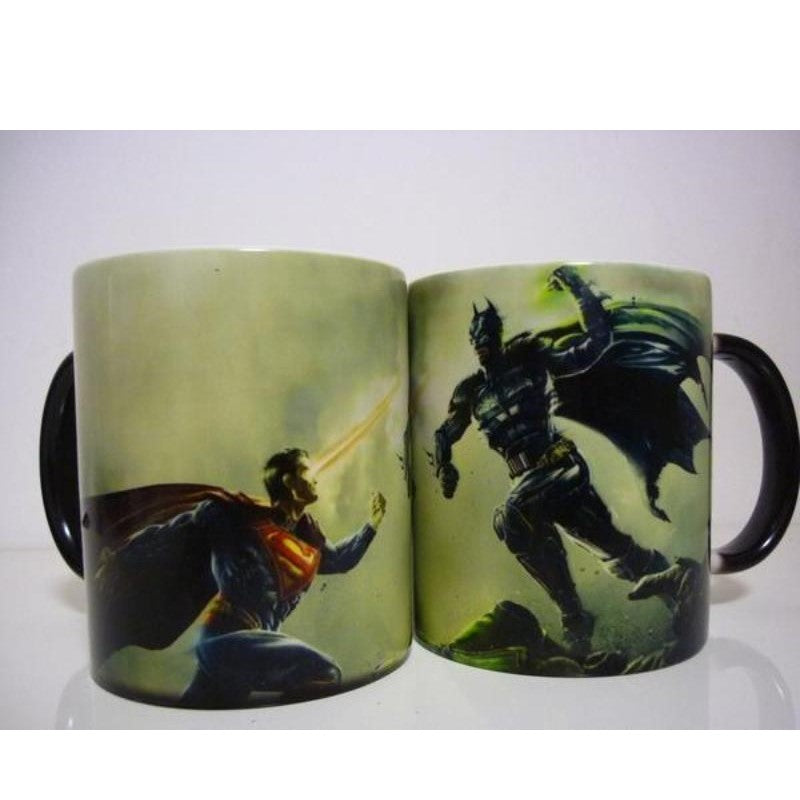 Batman & Superman Color Changing Mug