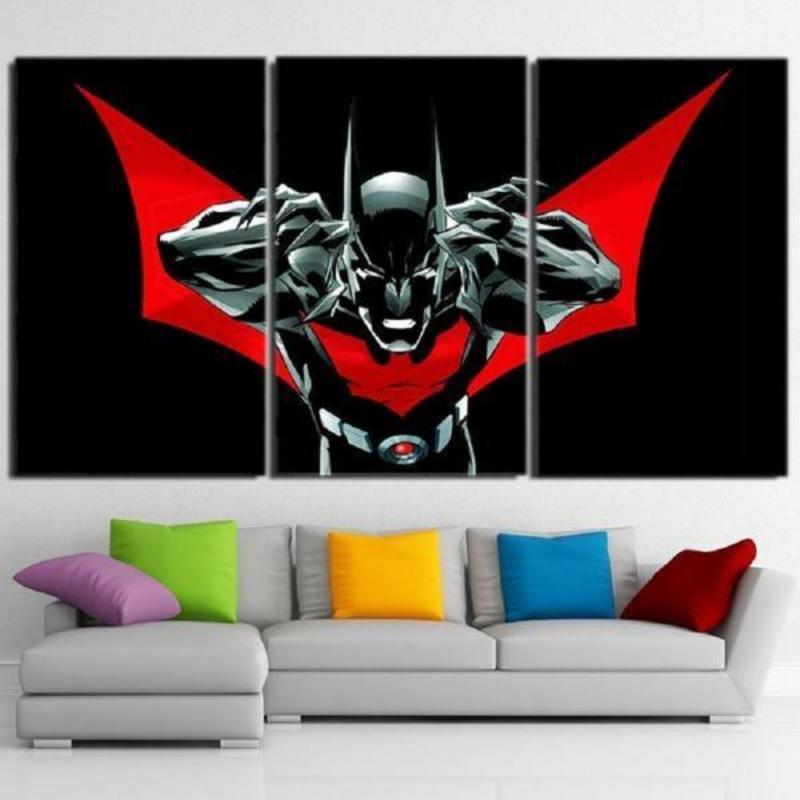 Batman Canvas The Amazing 3D Printed Framed Canvas