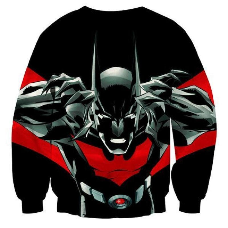Batman The Devil 3D Printed Batman Sweatshirt