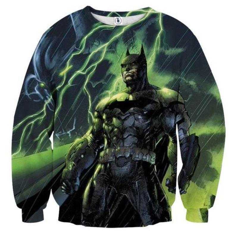 Batman Thunder 3D Printed Batman Sweatshirt