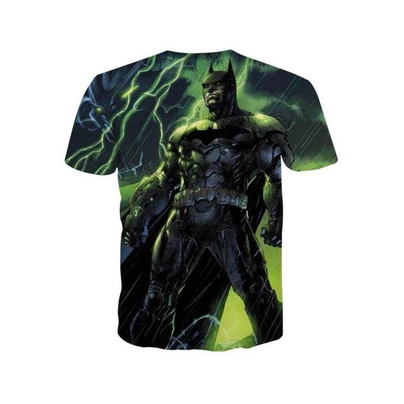 Batman Thunder 3D Printed Batman T-shirt