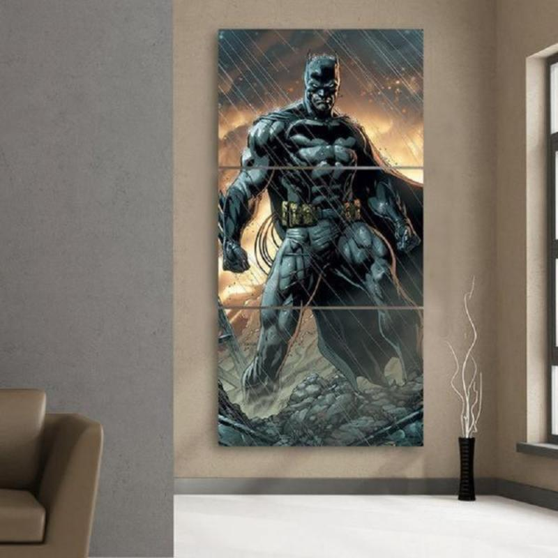 Batman Canvas Ultimate 3D Printed Framed Canvas
