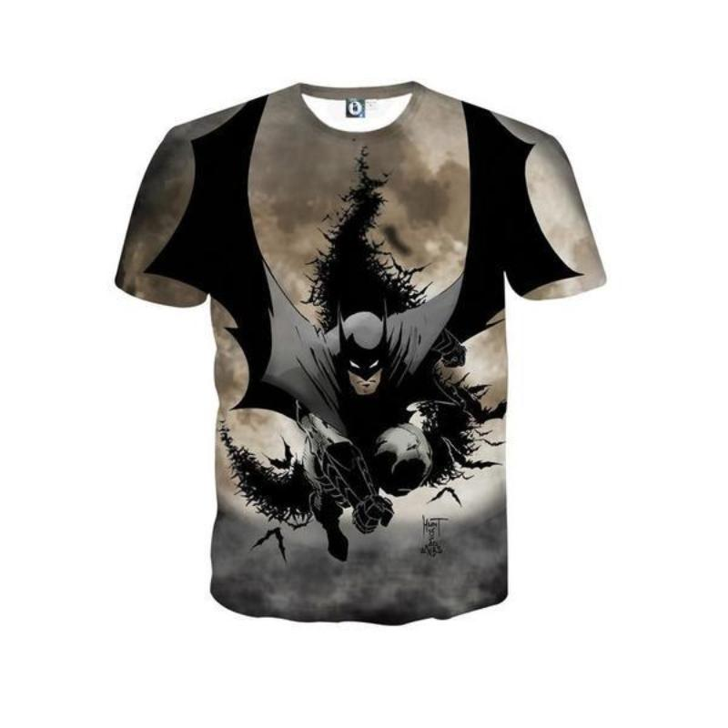 Batman T-shirt We are Saved Batman 3D Printed T shirt
