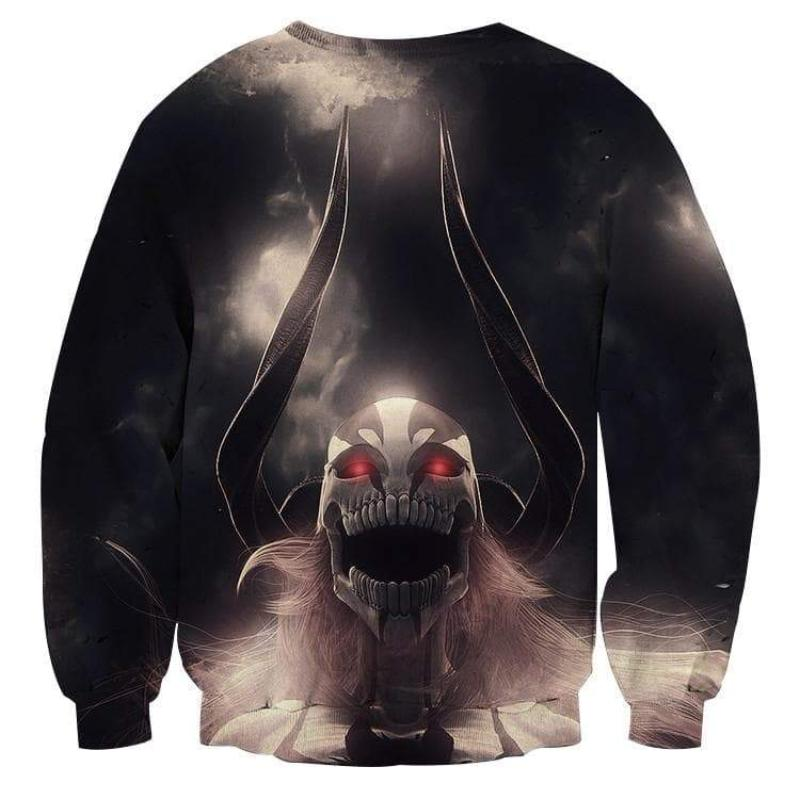 Bleach Black Lorde Vasto 3D Printed Anime Sweatshirts